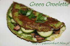 Green Omelette. Zielony omlet