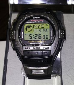 Casio Rare Vintage Cell Phone Vibration World time Alarm VIVCEL Watch VCL1201 -- Find out more about the great product at the image link.
