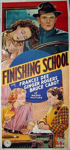 "Ginger Rogers ~ ""Finishing School"" 1934..."