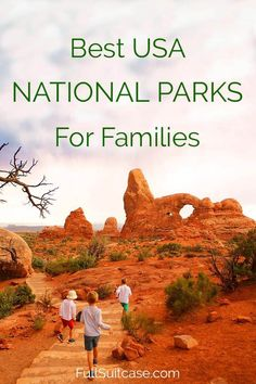 Best national parks in the USA to visit with kids #nationalparks #familytravel