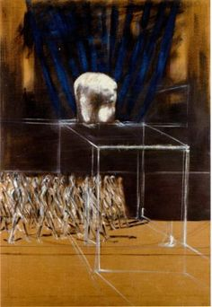 Francis Bacon Untitled ( Marching Figures ) ca. 1950/2