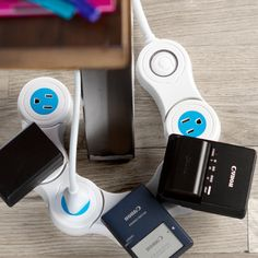 Fancy - Pivot Power Power Strip Innovative Products, Quirky Products, Innovative Ideas, Gadgets And Gizmos, Tech Gadgets, Awesome Gadgets, Power Strips, Quirky Gifts, Unusual Gifts