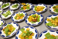 #plateup pan seared gnocchi with arugula. Amazing photos by @Josh Strauss Studios from our pop up dinner on July 22. Southern Italian Food and Ambiance. Yum!
