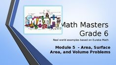 Are you looking for a real-world introduction to your Eureka Math program that energizes and entertains your students while they learn the concepts? Then this PowerPoint program is for you!Focus Standards:6.G.A.1 Find the area of right triangles, other triangles, special quadrilaterals, and polygons by composing into rectangles or decomposing into triangles and other shapes; apply these techniques in the context of solving real-world and mathematical problems. 6.G.A.2 Find the volume of a…