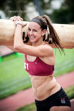 Lindy Wall is epic! Doctor told her she'd never be able to squat again after she broke her back and here she is at the 2013 CrossFit Games kicking ass with a smile on her face!