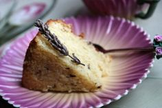 A2K - Allotment 2 Kitchen: Lavender Almond Cake