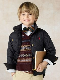 How cute is this for Back to School? Ralph Lauren