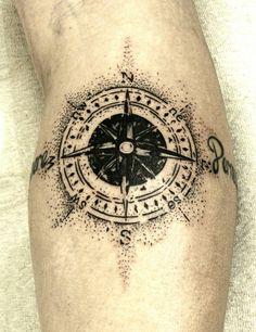 #compass tattoo by BROLIN KOSTA