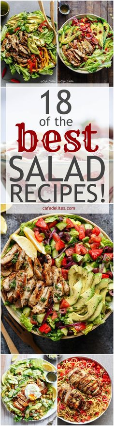 18 Best Salad Recipes