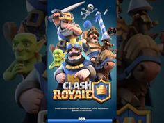 Mobil Oyun Videoları: Taç İçin Savaştım - Clash Royale
