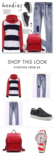 Heads Up! Cute Hoodies by svijetlana on Polyvore featuring moda, Hoodies, polyvoreeditorial and twinkledeals