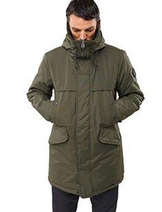 Winter Jackets – Urban Style Mens Parka – Hooded Outerwear – By Street Habit