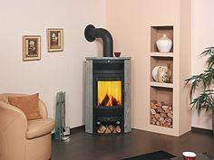 Krbová kamna HARK 65 Nebraska, Mini Wood Stove, New Homes, Relax, Home Appliances, Praha, Technology, Fireplaces, Color