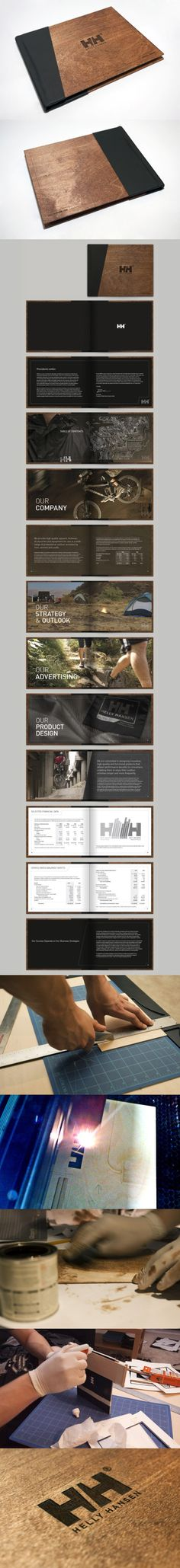 Helly Hansen Annual Report    via  http://www.behance.net/gallery/Helly-Hansen-Annual-Report/324530