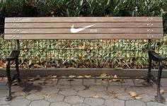 Ne vous arrêtez pas. Courrez ! Pas mal Nike #Brand #StreetAd