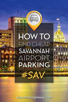 Insider Savannah airport parking methods to help you save big. Click and read tips, compare fees and easily book online. AirportParkingHelper.com explains multiple techniques to reserve cheap SAV parking rates, Savannah airport parking coupons & bargains - perfect for those planning a wedding, cruise, Disney vacation, babymoon, honeymoon or other travel. Follow us on Pinterest to find other great budget travel tips like free things to do in New York, Chicago, LA & beyond!