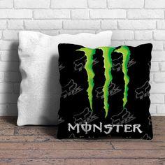 Fox Racing Monster Energy Pillow   Aneend