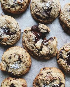 "3,169 Likes, 66 Comments - thalia ho (@thaliaho) on Instagram: ""chocolate chip & pecan cookies from @ottolenghi 's new book, sweet. classic in character and with…"""