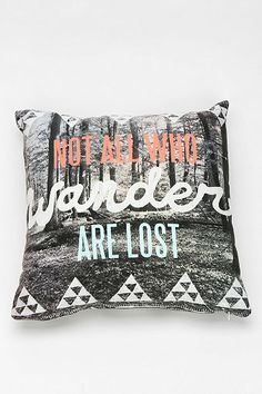 Wesley Bird For DENY Wander Pillow - Urban Outfitters