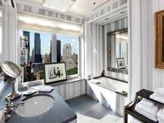 A $50 MILLION DOLLAR NEW YORK CITY PIED A TERRE DESIGNED BY MICHAEL SMITH! Sotheby's