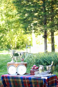 Intrinsic Beauty | Entertaining: Old School, Preppy Tailgate