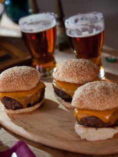 Cheese Burgers from FoodNetwork.com