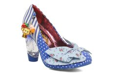Irregular choice - Trinklettina - Already have it in red but the blue version is soooooo crazy !
