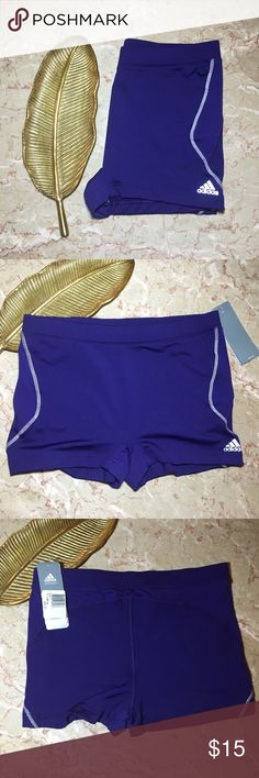 NWT Adidas ClimaCool Purple Shorts. Large NWT Adidas ClimaCool Purple Shorts. Size Large. 8% Polyester. 14% Spandex. Mesh material on sides and upper back of the shorts. White accent stitching. Reflective Adidas logo. Adidas Shorts