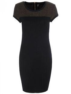 Γυναικείο κομψό κοντομάνικο φόρεμα Χρώμα: Μαύρο Black, Dresses, Fashion, Gowns, Moda, Black People, Fashion Styles, All Black, Dress