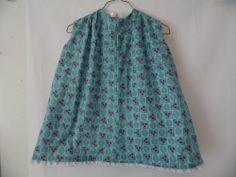 Girl Toddler Dress Reversible Handmade