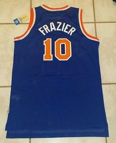 871dfeb9390 Rare NWT ADIDAS SWINGMAN New York Knicks Walt Frazier NBA Jersey Men s Large