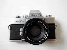 Minolta SRT101 with Minolta Rokkor-PF 50mm f/1.7 lens