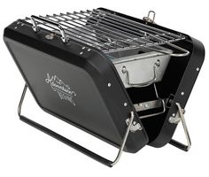 Enjoy camping around the warm fire whilst grilling your favourite food with the Portable Suitcase Barbecue from Gentlemen's Hardware. The foldaway barbeque neatly opens up to let you grill and BBQ but then when you're finished you can fold away with ease. Camping Grill, Camping Stove, Grilling, Hibachi Grill, Truck Camping, Camping Glamping, Camping Chairs, Beach Camping, Shopping