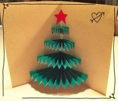 Image about christmas in noel by Lea Lemort on We Heart It Christmas Tree Cards, Christmas Art, Simple Christmas, Christmas Decorations, Christmas Ornaments, Xmas Tree, Xmas Crafts, Diy And Crafts, Crafts For Kids