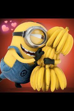 Minions / Banana / Despicable Me / Mi Villano Favorito. so love this movie Amor Minions, Cute Minions, Minions Despicable Me, Minions Quotes, Funny Minion, Minions 2014, Minion Stuff, Happy Minions, Minion Humor