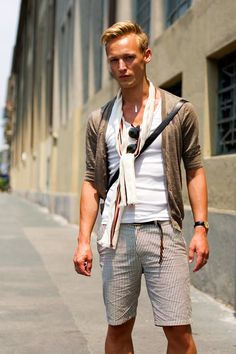 On the Street…..Last Looks of Summer, Milan « The Sartorialist