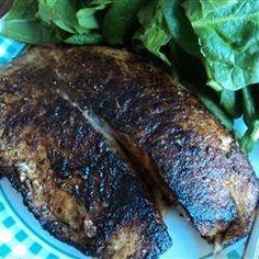 Blackened Tilapia with Secret Hobo Spices Allrecipes.com