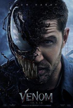 New 'Venom' Movie Poster Featuring Venom Transformation