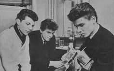 Frankie Avalon and Everly brothers