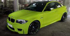 SchwabenFolia BMW 1 M Coupe sa 408KS
