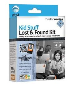 GPS lost and found kit