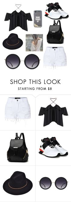 """""""Outfit"""" by lilybee2023 ❤ liked on Polyvore featuring LE3NO, Y-3, Alice + Olivia and Kate Spade"""