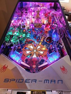 spiderman-pinball-machine