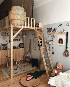 Kids room We all know how difficult it is to decorate a kids bedroom. A special place for any type of kid, this Shop The Look will get you all the kid's bedroom decor ide Kids Room Design, Kid Spaces, Space Kids, Small Spaces, Home Decor, Bedroom Ideas, Bedroom Wall, Small Room Bedroom, Bedroom For Kids