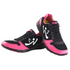 zumba shoes. if i have to get exercise shoes, at least these have hot pink!