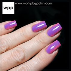 Brushstroke Nail Art with Misa Sunny Side Up Collection Polishes : work / play / polish