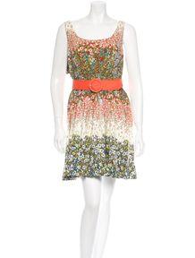 Alice   Olivia Sleeveless Dress