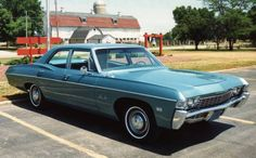 1968 Chevrolet Bel Air picture  THIS was my second car. Drove it in high school and college!