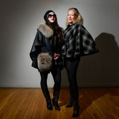 Zia Ziprin and her Daughter Aishling Labat, curators of the vintage pop-up LIFE VINTAGE, benefiting Chai Lifeline for children with cancer.