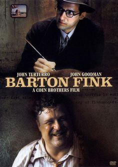 Barton Fink (Joel & Ethan Coen, 1991). Palme d'or, Cannes